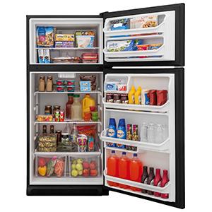 Frigidaire Black 18.0 Cu Ft Top Freezer Refrigerator