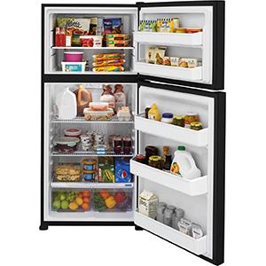 Frigidaire 18 Cu Ft Black Top-Freezer Refrigerator