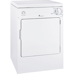 GE White Spacemaker Portable/Stationary Dryer