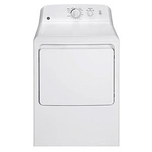 GE White Electric Dryer