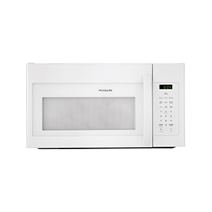 Frigidaire White 1.6 cu ft Over-The-Range Microwave