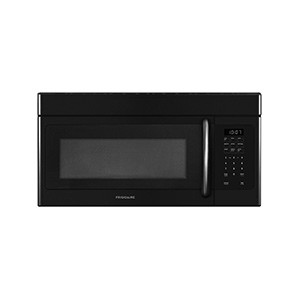 Frigidaire Black 1.6 cu ft Over-The-Range Microwave