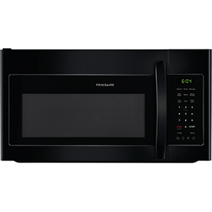 Frigidaire 1.8 Cu Ft Black Over The Range Microwave