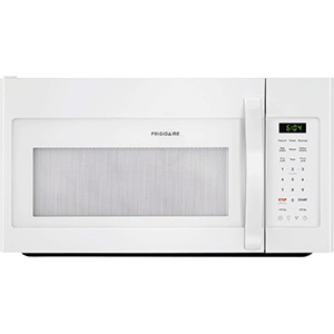 Frigidaire 1.8 Cu Ft White Over The Range Microwave