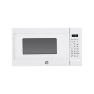 GE White .7 cu ft Countertop Microwave
