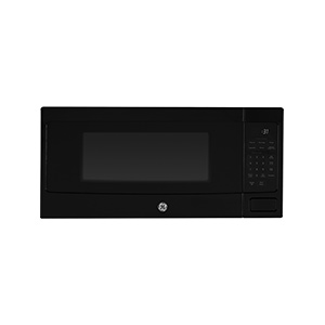 GE Black 1.1 cu ft  Profile Countertop Microwave Oven
