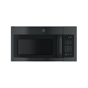 GE Black 1.6 cu ft Over-The-Range Microwave