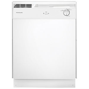 Frigidaire White 2-Cycle Dishwasher