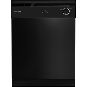 Frigidaire Black 2-Cycle Dishwasher