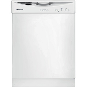 Frigidaire White 4-Cycle Dishwasher