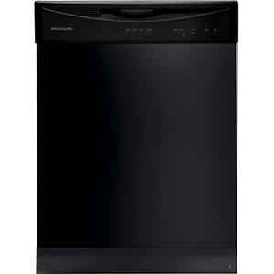 Frigidaire Black 4-Cycle Dishwasher