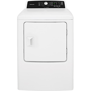 Frigidaire White 6.7 cu ft Electric Dryer