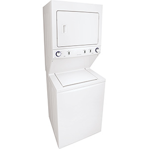 """Frigidaire 27"""" Electric Stack Washer/Dryer Laundry Center"""