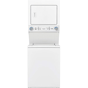 """Frigidaire 27"""" Electric Stackable Washer:Dryer Laundry Center"""