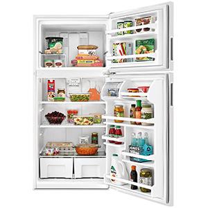 Amana White 18.3 Cu Ft Refrigerator