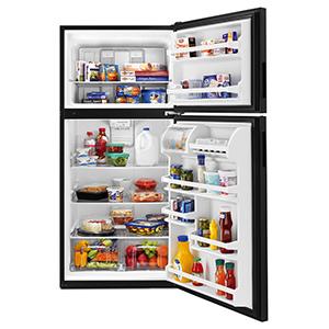 Amana Black 18.3 Cu Ft Refrigerator