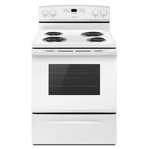 Amana White 4.8 cu ft Electric Range