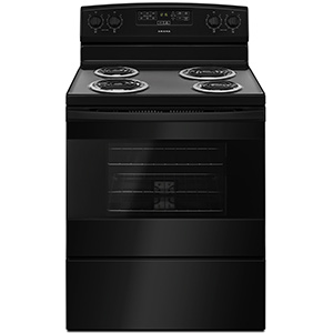 Amana Black 4.8 cu ft Electric Range
