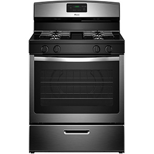 Amana Stainless 5.1 cu ft Gas Range