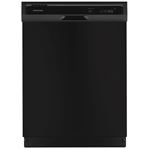 Amana Black 3-Cycle Dishwasher