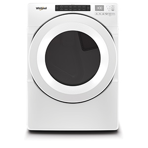 Whirlpool White 7.4 cu ft Electric Dryer