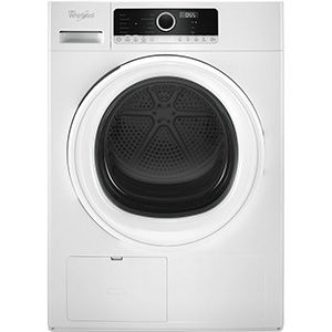 Whirlpool White 4.3 cu ft Compact Electric Dryer