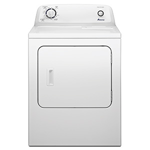 Amana White 6.5 cu ft Electric Dryer