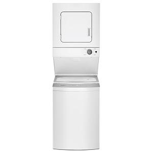 "Whirlpool White 24"" Stack Washer/Dryer"