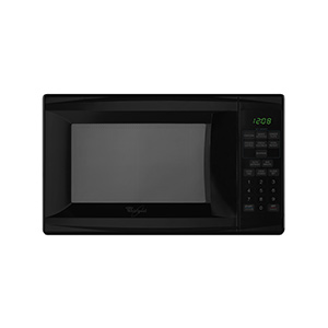 Whirlpool Black .7 cu ft Countertop Microwave