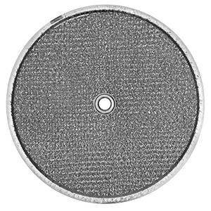 "Aluminum Dome Range Hood Filter 9-1/2"" Diameter"