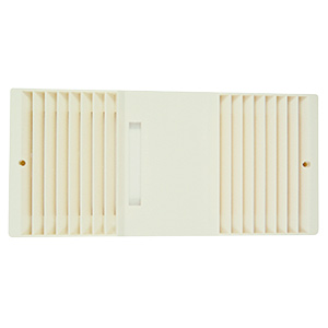 Beige Bath Exhaust Fan Grille