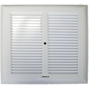 """Broan 10-1/4"""" x 10-1/4"""" Bath Exhaust Fan Replacement Grille"""