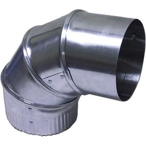 "4"" Aluminum Adjustable 90° Elbow"