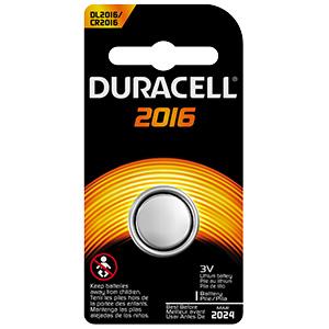 Duracell 3V Lithium Battery 2016