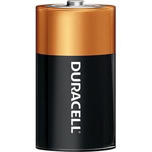 Duracell Coppertop Battery D