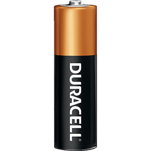 Duracell Coppertop Battery AA