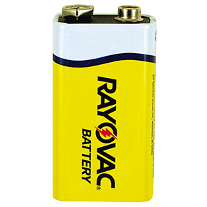 Rayovac 9V Heavy-Duty Battery 9V