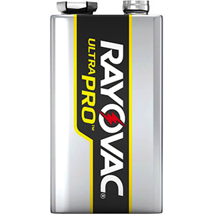 Energizer UltraPRO™ Industrial Alkaline Battery Packs 9V