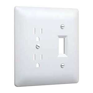 Masque 2000 Series Combo Wall Plate White 2400W