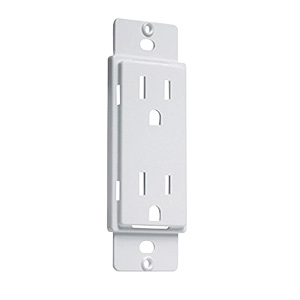 Masque 5000 Series Adapters White Receptacle AD20W