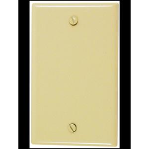 Leviton Nylon 1-Gang Blank Wall Plate Ivory