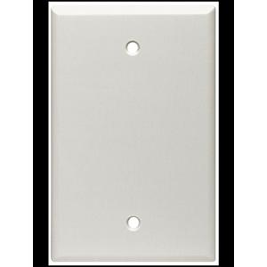 Leviton Nylon 1-Gang Blank Wall Plate White