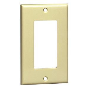 Leviton Nylon 1-Gang Switch Wall Plate Ivory