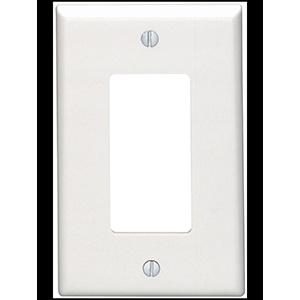 Leviton Nylon 1-Gang Switch Wall Plate White