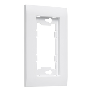 TayMac Device Mid-Size White Wall Plate 1-Gang A1000W