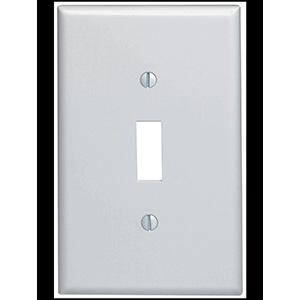 Leviton 1-Gang Switch Wall Plate White
