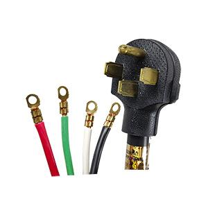 Prime Range Cord 4-Wire 4 Ft
