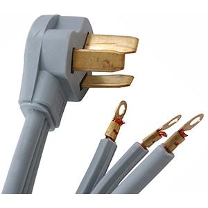 Prime Range Cord 3-Wire 6 Ft