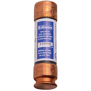 60 Amp Time Delay Cartridge Fuse RK-5