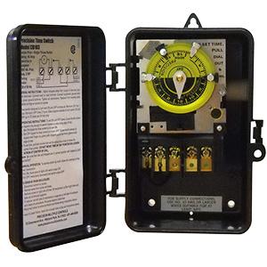 Precision 24-Hour Indoor/Outdoor Timer CD103 120V